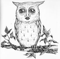 Owl by SarahBehr