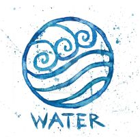Watertribe Symbol ATLA by GoldenSplash