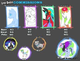 Commission prices! (Open!) by IMonsterDrool