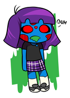 cute zombie by Coonstito
