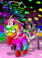 Pony Prom Freak Out by XXAnemia
