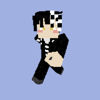 MINECRAFT SKIN- Death the Kidd by Lilium-excessum