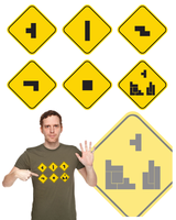 Block Roadsigns by TumblingTortoises