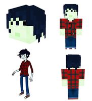 Marshall Lee Skin by Invizibiz