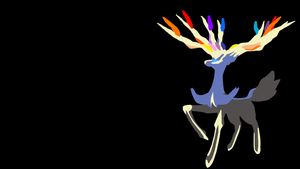 . Pokemon Wallpaper . Xerneas . by Flows-Backgrounds