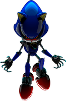 The Metal Sonic by mateus2014