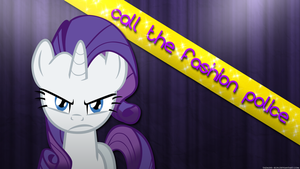 Rarity: Call the fashion police - Wallpaper by Tadashi--kun