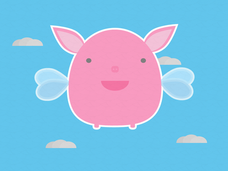 Flying Pig by apparate