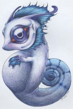 Blue Embryo by maigonoryu