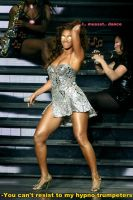 Beyonce Hypnotized by Music by messiasguardiola