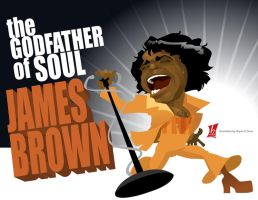 The Godfather of Soul by braeonArt