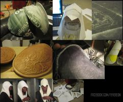 AC Revelations Ezio WIPS by fevereon