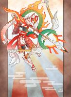 Okami Huntress by Hakuramen