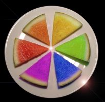 Melon Color Wheel by Flyingpear