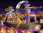 Halloween Pirate Pups by artboy-2