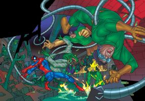 Spider-man Heroes + Villains 3 by JohnRGRoss