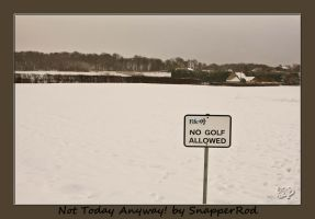 Not Today Anyway by SnapperRod