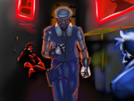 Marcus, the street-cleaner by SenorJay