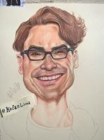 leonard hofstadter the big bang theory by Kefas-lima