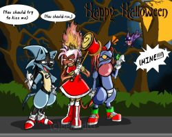 RD Halloween by TamarinFrog