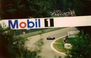 Entrada da chicane Bus Stop,SPA-Francorchamps 1996 by F1PAM
