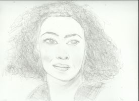 Woman face study n90 by lv888
