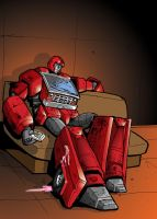 Ironhide's Downtime by Charger426