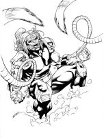 X-Men Month Omega Red SOTD by RobertAtkins