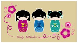 Lovely kokeshi 1 by meb85