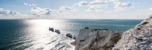 the needles isle of wight by cheechwizard