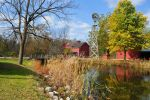 Autumn at Bonneyville Mill by beautythroughalens