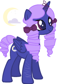 Mlp: NG - Nightingale by Lunarblueberry