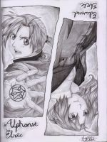 Elric Brothers by MelissaLopzzz