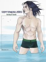 HP Art Calendar-September 2005 by The-Gwyllion