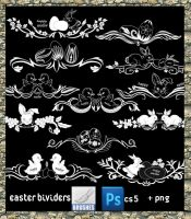 Easter Dividers by roula33