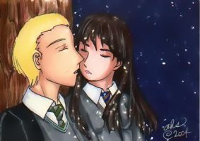 Draco and Cho by simplytonks