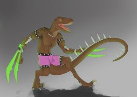 Haxx the Raptor by RMiester