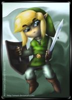 Toon Link by Amaet