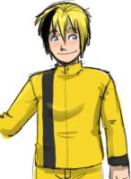 Human Bumblebee by agra19