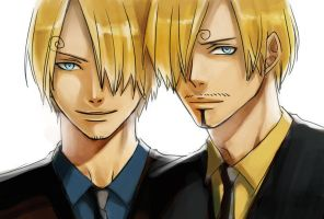 Sanji_19 X 21 by MMCoconut