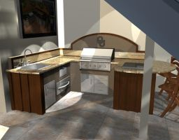 Outdoor Kitchen Concept 2 by RocketFan