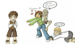OMG Frodo's so cute by HapyCow