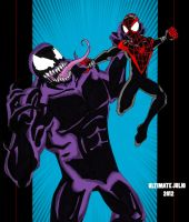 Ultimate comics spiderman: miles vs venom! by ultimatejulio