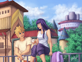 NaruHina - Treat by piinl