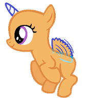MLP Base- Flying Filly by alari1234-Bases