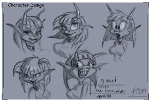 Demon girl design 4 by 14-bis