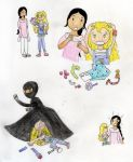 Burka Avenger Meets Goldie Blox! by ojamajomary