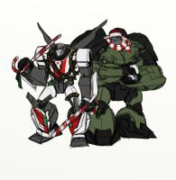 WheeljackBulkhead - wreck and yule by rabbitzoro