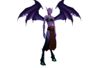 Sallaria's demon form full body by The-Serene-Mage
