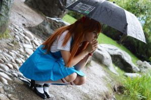 Asuka by the pond #3 by Lightning--Baron